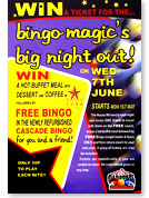 Bingo Magic Big Night Out Poster