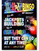 Bingo Magic Multi Jackpot Bingo Poster