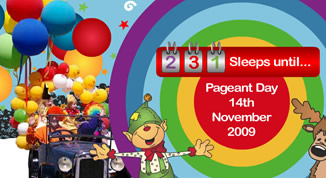 Christmas Pageant Website Header Procession