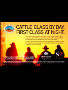 Cattle Drive Advertisement