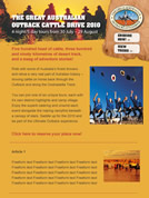 Cattle Drive E-Newsletter Template