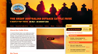 Cattle Drive Website