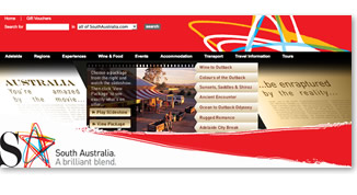 Australia the Movie Web Banner Design