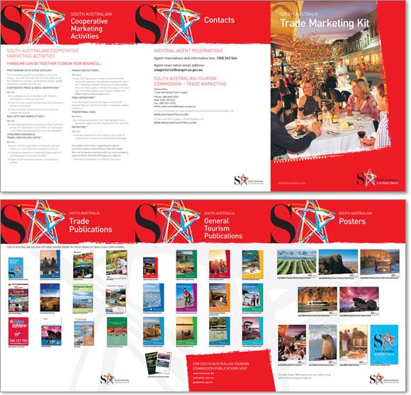 South Australian Tourism Commission Catalogue Samples